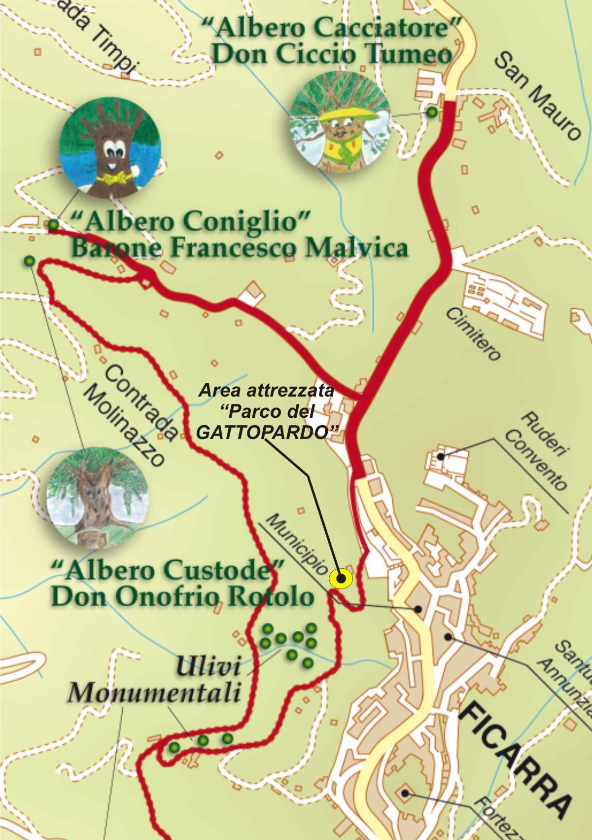"""Itinerario storico-naturalistico """"Sulle Tracce del Gattopardo"""""""