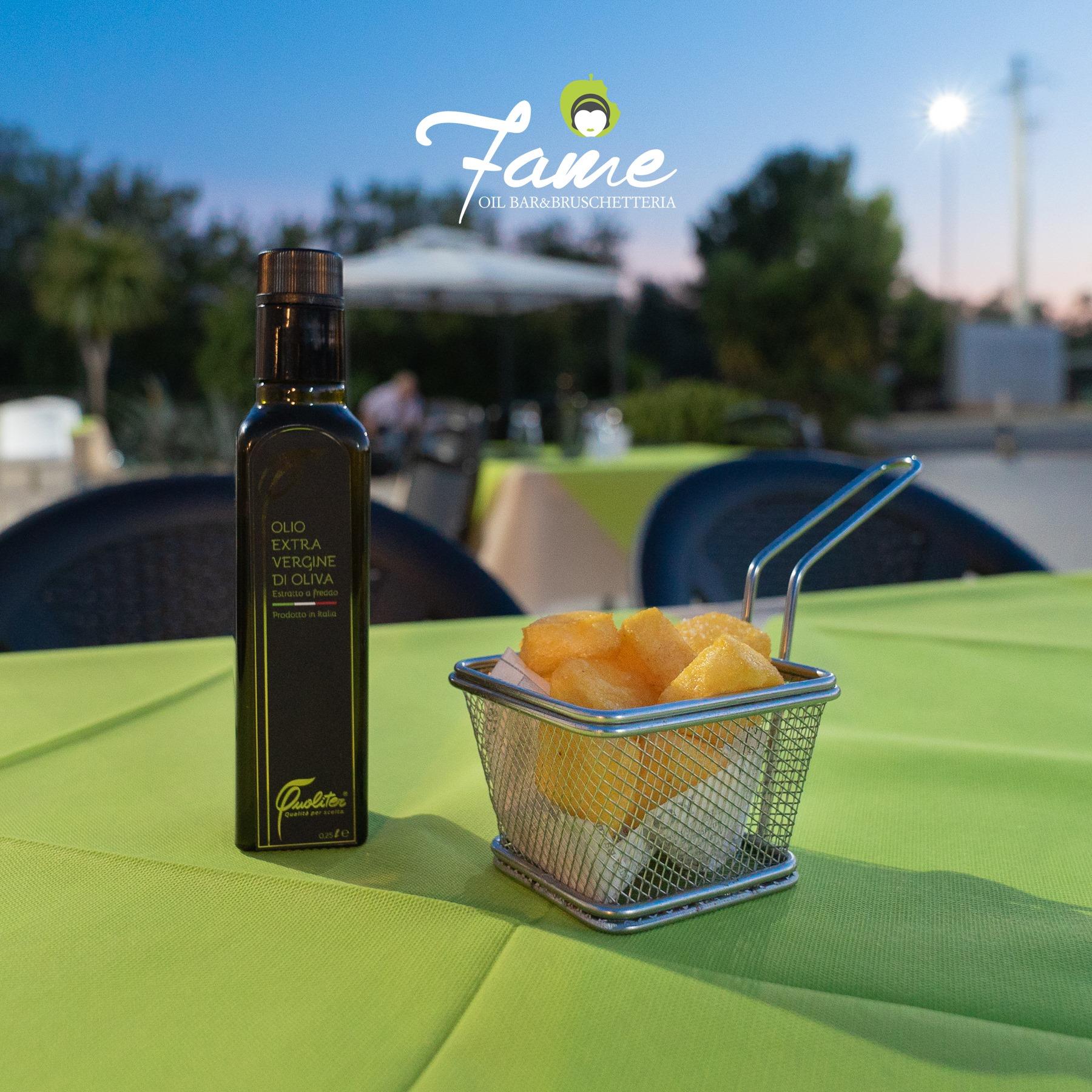 Fame Oil bar & bruschetteria: dal frantoio alla tavola.