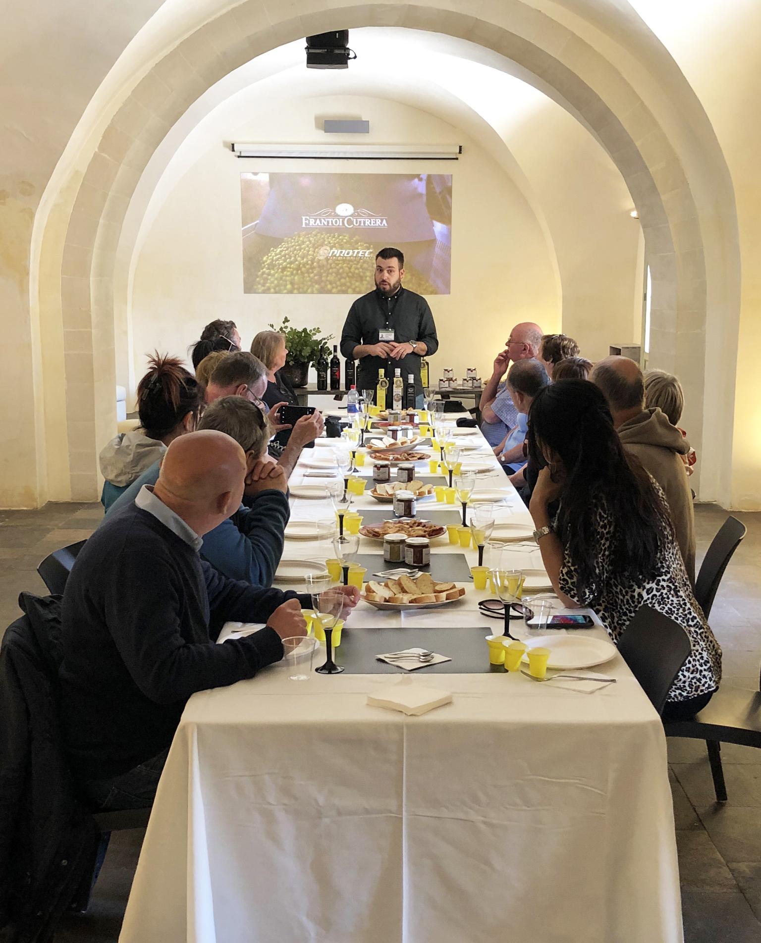 Frantoi Cutrera Experience – visita al frantoio e degustazione prodotti